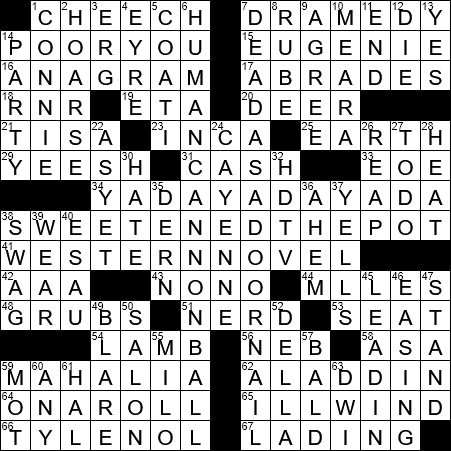 La Times Crossword 7 Nov 20 Saturday Laxcrossword Com