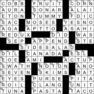 La Times Crossword 19 Nov 20 Thursday Laxcrossword Com