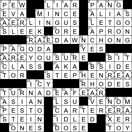 La Times Crossword 10 Nov 20 Tuesday Laxcrossword Com