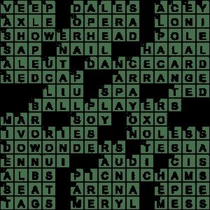 La Times Crossword 18 Dec 20 Friday Laxcrossword Com